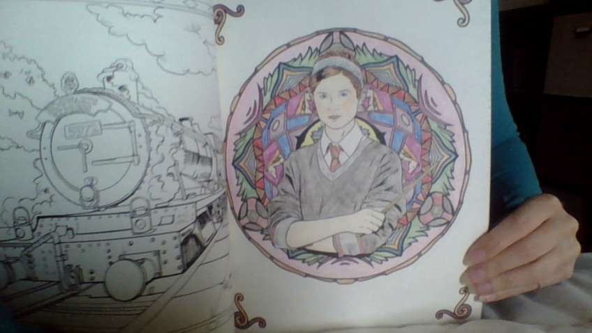 Harry Potter Magical Places Characters Coloring Book Review